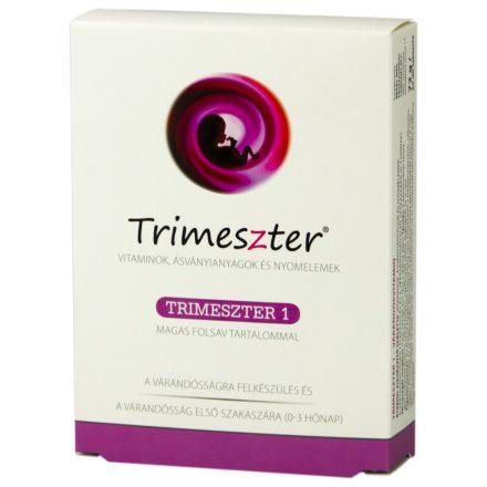 TRIMESZTER 1 VITAMIN VÁRANDÓSOKNAK tabletta 60 db