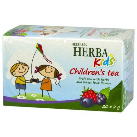 HERBÁRIA KIDS GYÜMÖLCSTEA erdei gyümölcs ízzel 20 db
