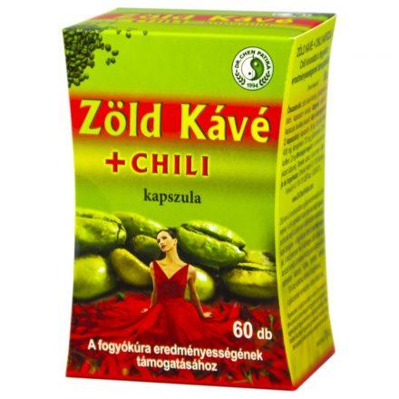 DR. CHEN ZÖLD KÁVÉ + CHILI kapszula 60 db