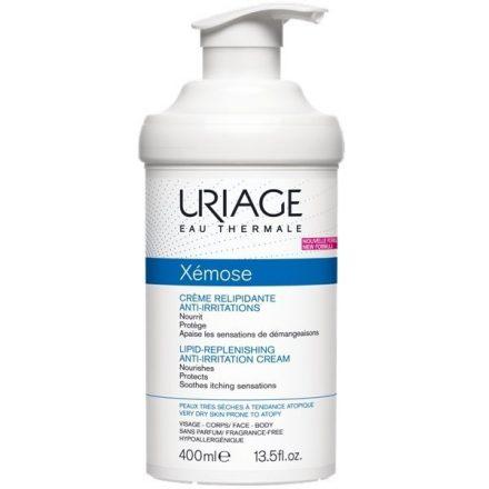 URIAGE XÉMOSE testápoló krém száraz és nagyon száraz bőrre 400 ml
