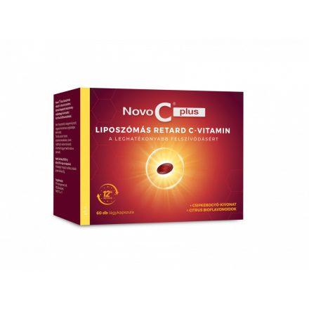NOVO C PLUS liposzómális C-vitamin csipkebogyóval kapszula 60 db