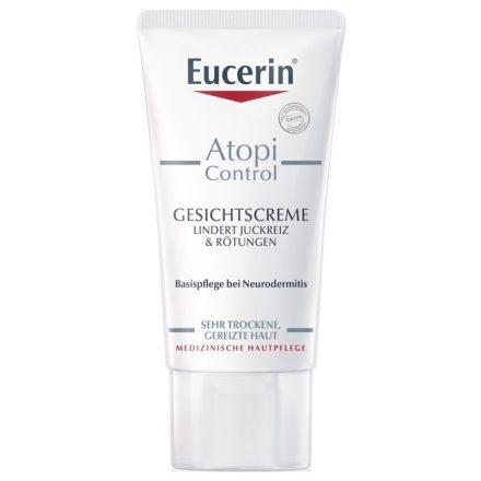 EUCERIN ATOPICONTROL 12% omega zsírsavas arckrém 50 ml