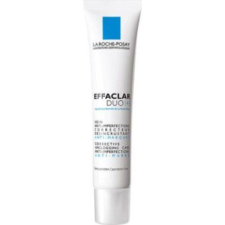 LA ROCHE-POSAY EFFACLAR DUO PLUS bőrmegújító arckrém problémás bőrre 40 ml