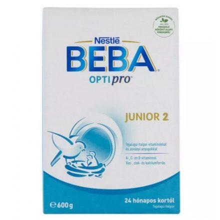 BEBA OPTIPRO JUNIOR 2+ tápszer 600 g
