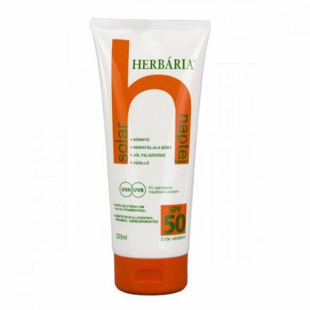 HERBÁRIA SOLAR SPF50 naptej 200 ml