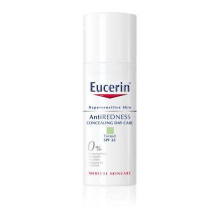 EUCERIN ANTI-REDNESS FF25 nappali színezett arcápoló 50 ml