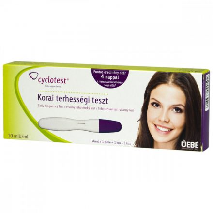CYCLOTEST korai terhességi teszt 1 db