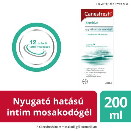 CANESFRESH SENSITIVE intim mosakodó gél 200 ml