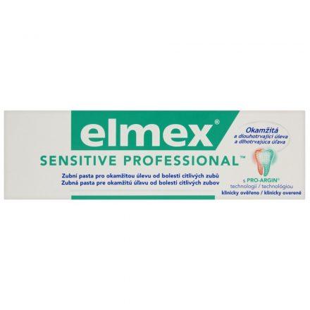 ELMEX SENSITIVE PROFESSIONAL fogkrém 75 ml