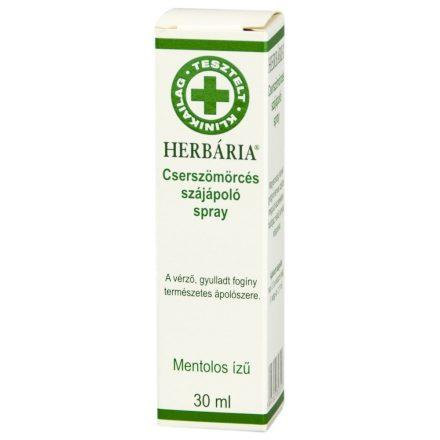 HERBÁRIA CSERSZÖMÖRCÉS szájápoló spray 30 ml